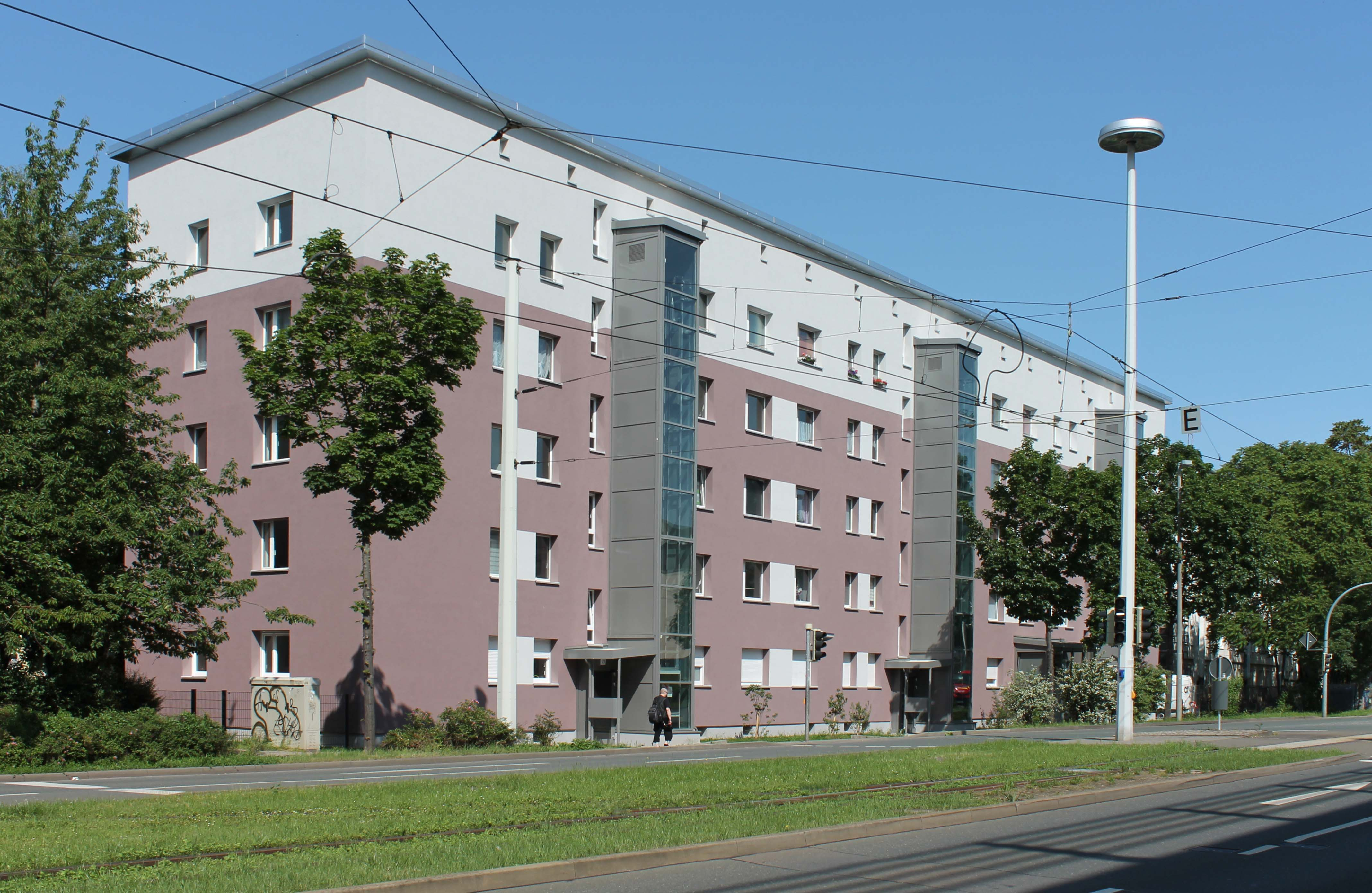 Fassadenarbeiten - Baustelle: Reichsstraße 2g-i Gera